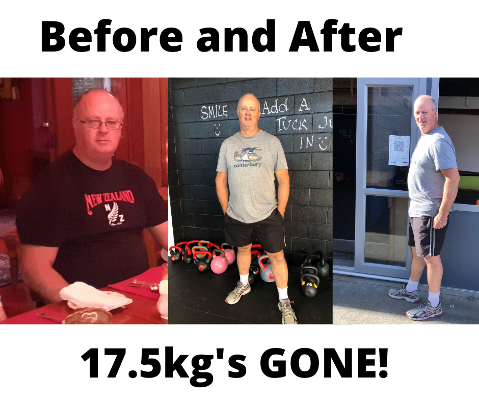 befroe and after get2it fitness studio