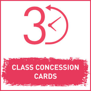 Class Concession Cards